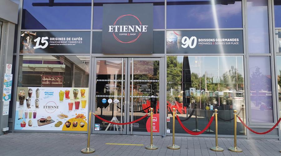 ETIENNE Coffee & Shop Carré de Soie