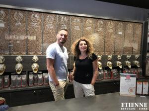 ETIENNE Coffee & Shop Bordeaux en formation à Narbonne