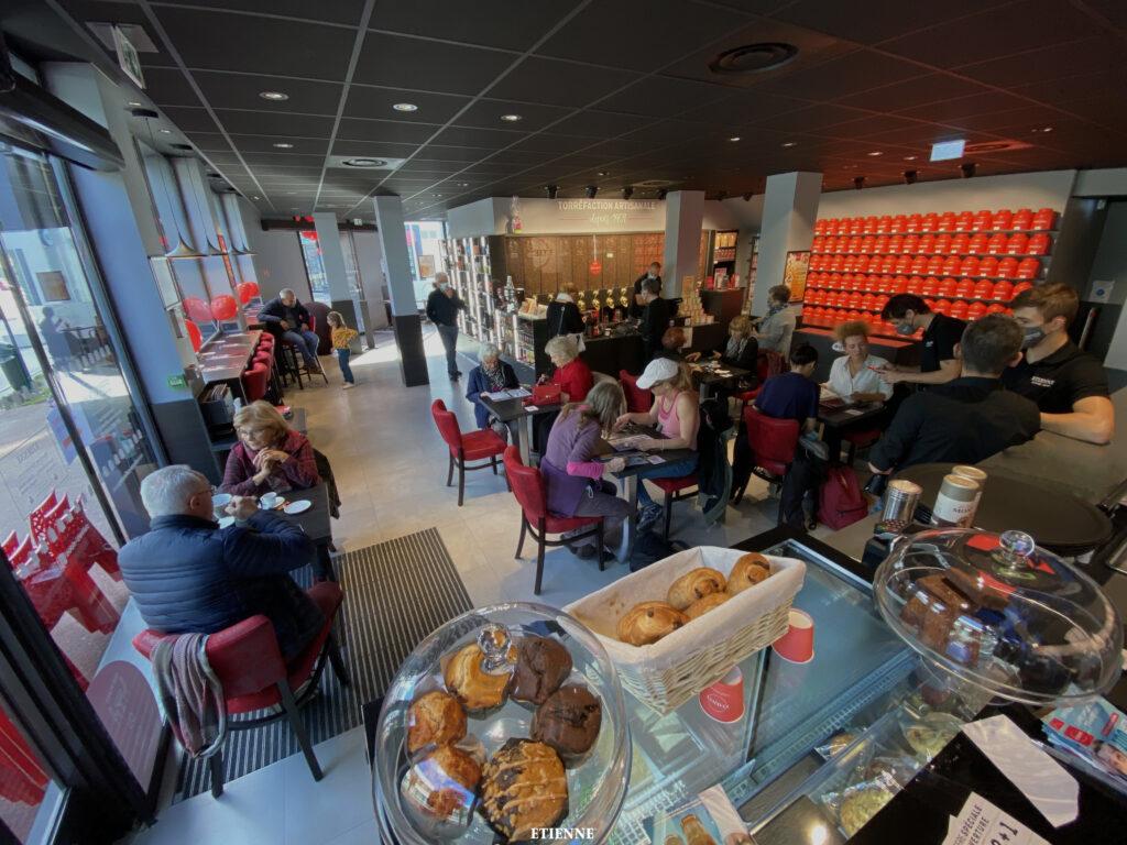 ouverture etienne coffee shop St Nazaire